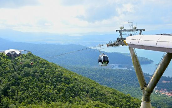 Langkawi Attractions - Cable Car